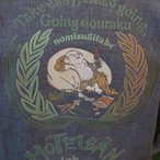 「七福神・布袋和尚」大きいサイズ メンズ,3L,4L 和柄 甚平 花火大会 夏祭り 和服,着物【送料無料】