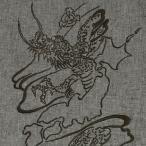 甚平「大和龍」竜,ドラゴン,友禅手描き,水墨画,simple,大きいサイズ,夏祭り,男性,通販,花火大会,男女兼用,和柄,日本製,【送料無料】