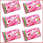 クロレッツミント タブ ピンクグレープフルーツミント(clorets) 6個セット メール便送料無料!(訳あり ワケあり ワケアリ わけあり)
