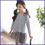 Yahoo!和一モール送料無料 春新商品 子供服 キッズ 子供 女の子 長袖 ワンピース シャツ ドレス シンプル kd2624