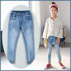 Yahoo!和一モール春新商品 子供服 キッズ 子供 女の子 パンツ ロングパンツ 長ズボン ジーンズ 運動 オシャレkd2662