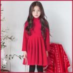 Yahoo!和一モール送料無料 春新商品 子供服 キッズ 子供 女の子 長袖 ワンピース シャツ ドレス シンプル kd2680
