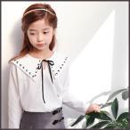 Yahoo!和一モール送料無料 春新商品 子供服 キッズ 長袖 シャツ 上着  女の子 デザイン オシャレkd2881