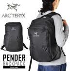 ARC'TERYX アークテリクス PENDER バックパック ブラック リュックサック デイパック メンズ アウトドア ブランド メーカー  【クーポン対象外】