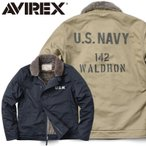 ショッピングミリタリー AVIREX アビレックス アヴィレックス 6172135 STENCIL N-1 デッキジャケット ステンシル メンズ ミリタリー アウター ブルゾン ジャンバー アメカジ ブランド