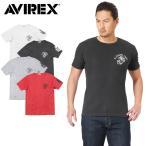 今だけ20%%OFF! AVIREX アビレックス 6173347 S/S U.S.M.C. ワッフル Tシャツ メンズ 半袖 ミリタリー カットソー 2017 新作
