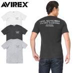 今だけ15%OFF!ポイント5倍! AVIREX アビレックス 6173348 S/S U.S.ARMY ステンシル ワッフル Tシャツ メンズ 半袖 ミリタリー カットソー 2017 新作