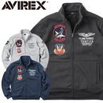 店内20%OFF! AVIREX アビレックス アヴィレックス 6173410 TIGER SHARKS スタンド ジップ スウェット パーカーアウター メンズ ミリタリー ブランド