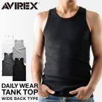 ショッピングタンクトップ アビレックス アヴィレックス AVIREX タンクトップ ワイドバック メンズ 6143507
