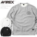 AVIREX ���ӥ�å��� 6183555 L/S ������ơ��� ���롼�ͥå� �������åȥ���� SPACE COMMAND ��� �ȥ졼�ʡ� �ߥ� �֥��ɡڥ����ݥ��оݳ���