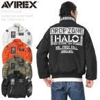倉庫拡張セール!AVIREX アビレックス 6192176 AMC MA-1 MOD フライトジャケット HALO メンズ アウター ミリタリージャケット ブランド【クーポン対象外】