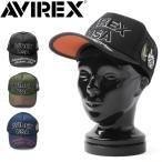 AVIREX アビレックス アヴィレックス CM LOGO メッシュキャップ メンズ レディース ミリタリー 帽子 フライトジャケット MA-1 【GA14370700】
