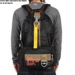 ミリタリーバッグ FLYING BODY PARACHUTE BAG SERIES 新品 FB-06 パラシュート リュックサック ブラック 防災 リュック
