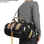 ミリタリーバッグ FLYING BODY PARACHUTE BAG SERIES FB-154 パラシュート ドラムバッグ ブラック