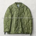 クーポンで10%OFF! 実物 新品 米軍 M-65 フィールドジャケット用ライナー OLIVE ミリタリー キルティング 放出品 払い下げ品