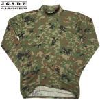 クーポンで15%OFF! C.A.B.CLOTHING J.G.S.D.F. 自衛隊 ハイネック長袖Tシャツ 新迷彩 [2705] / ミリタリーTシャツ