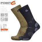 高袜 - 今だけ20%OFF!POINT6 ポイントシックス 11-0400 TACTICAL OPERATOR HEAVY ミッドカーフソックス 靴下 メンズ ミリタリー サバゲー サバイバルゲーム ブランド