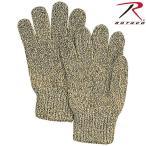 ROTHCO ロスコ RAGG WOOL グローブ MADE IN USA メンズ アメリカ製 ミリタリーグローブ ウール 手袋 無地 冬用 ブランド【8416】