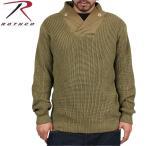 今だけ20%OFF! ミリタリーセーター ROTHCO ロスコ 米軍WWIIメカニックセーター カーキ