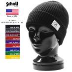 ショッピングschott Schott ショット 3149020 OLD SCHOOL WATCH CAP / ワッチキャップ ニットキャップ