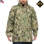 ミリタリージャケット 実物 新品 米海軍 NWU GORE-TEX パーカー TYPEIII AOR2 ゴアテックス 米軍 サバゲー