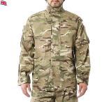 クーポンで15%OFF! 実物 新品 イギリス軍WARM WEATHER COMBAT ジャケット MTP (Multi Terrain Pattern) サバゲー 服 ウェア 装備 迷彩 カモフラ
