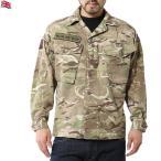 クーポンで15%OFF! 実物 イギリス軍TROPICAL COMBAT ジャケット MTP (Multi Terrain Pattern) USED サバゲー 服 迷彩 カモフラ マルチカム 装備 ウェア ウエア