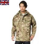 実物 新品 イギリス軍WINDPROOF コンバット スモック MTP (Multi Terrain Pattern) メンズ ミリタリージャケット 迷彩 カモフラージュ