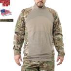 GW限定!15%OFF! 実物 新品 米軍 MASSIF製 コンバットシャツ MultiCam サバゲー 服 装備 ウエア ウェア ミリタリーシャツ