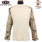 TRU-SPEC トゥルースペック Tactical Response Combat シャツ デザートデジタル / コンバットシャツ ロングTシャツ 【クーポン対象外】