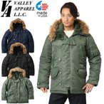 Valley Apparel バレイアパレル MADE IN USA N-3B フライトジャケット 【クーポン対象外】