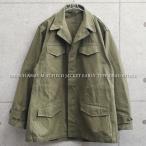 実物 新品 フランス軍 M-47 フィールドジャケット 前期型 コットン製 #2 メンズ デッドストック ミリタリー 軍服 放出品 アウター