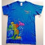 カリフォルニアディズニー55周年限定・ワールドオブカラー柄のTシャツ 年間パスポートホルダー所持者限定商品