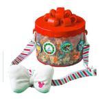ミッキー 2019 ディズニークリスマス レトロなデザインのクリスマスグッズ ポップコーンバケット おみやげ 東京ディズニーランド