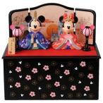 ショッピングリゾート 送料無料  即納 ギフト包装 雛人形 ディズニー東京ディズニーリゾート 雛祭り ミッキーとミニーのひな人形(台付き)