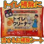 ティーエイチティー キレイ楽々 Agオレンジ除菌トイレクリーナー(30枚*2コ入)