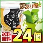永谷園 「冷え知らず」さんの生姜たまご春雨スープ カップ 27.2g×24個 近畿A宅配便B