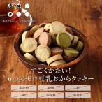訳あり食品 わけあり 6つのZERO サクサク豆乳おからクッキー 4種ミックス 500g(250g×5袋)ダイエット メール便A WKP 新商品