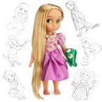 ディズニー(Disney)US公式商品 塔の上のラプンツェル プリンセス 人形 ドール フィギュア おもちゃ アニ