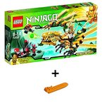レゴ ニンジャゴー 黄金ドラゴン 70503 + レゴ 630 ブロックはずし(プレゼントし)