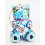 おもちゃ ホビー Cloisonne Teddy Bear Christmas Hol