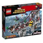 Yahoo!ワールド輸入アイテム専門店LEGO レゴ マーベルスーパーヒーローズ 2016後半新商品 スパイダーマン:ウェブ・ウォーリアーズ 橋の上