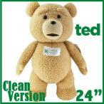 【電池交換可能】TED テッド ぬいぐるみ 24インチ60cm 「クリーントーキング版(通常版)」 等身大 トー