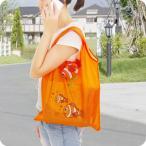 期間限定お買い得!コンパクトエコバッグ 折り畳み式エコバッグ 熱帯魚Mサイズエコバッグ 買い物袋 ショッピング袋 レジ袋