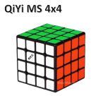 安心の保証付き 正規販売店 QiYi MS 4x4x4 ブラック 磁石搭載 black 4x4x4 ルービックキューブ おすすめ なめらか