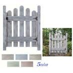 ショッピング木製 [木製 門扉]カントリーゲート1型お庭 の エントランス に アンティーク  シャビー な色合いの ナチュラル な 木製 ゲート[送料無料]