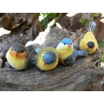 バード4羽セット(SS) 小鳥 とり トリ オブジェ 動物 オーナメント 631H ガーデン 雑貨 ガーデニング 置物 飾り 雑貨 インテリア 庭 ア