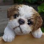 犬の置物 シーズ ハンギングドッグ 1121QYL いぬ イヌ 動物 オーナメント ガーデン オブジェ 庭 雑貨 ガーデニング インテリア 雑貨 マス
