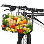 自転車かご 自転車カゴ 折りたたみ式 簡単脱着 耐荷重25KG 前かご 後ろかご バスケット 自転車 マウンテンバイククロスバイク 折り畳み
