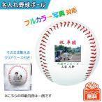 写真 ロゴ イラスト印刷対応 オウンネーム 名入れ 野球ボール オリジナル 硬式野球ボール(サインボール)